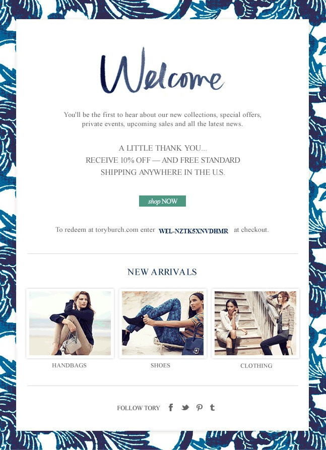6 Examples of the Most Successful Welcome Messages