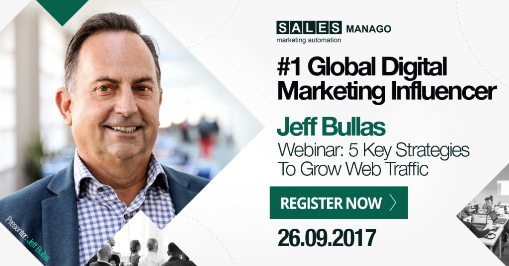 Jeff Bullas About the Possibilities of SALESmanago, or How To Leave Your Very Own Digital Footprint on this World?