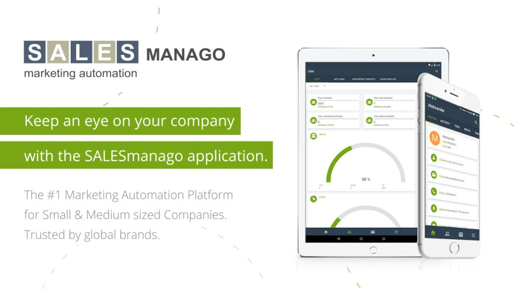 SALESmanago Within a Thumb's Reach – Meet Our New App