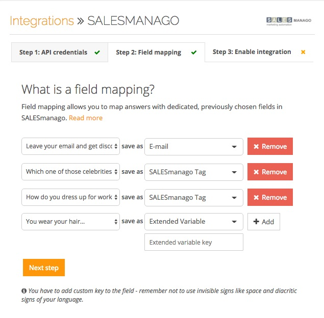 salesmanago-4screens-integration-mapping