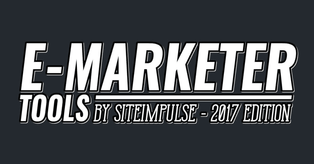 [Infographics] Digital Marketer's Toolbox – 2017 Edition