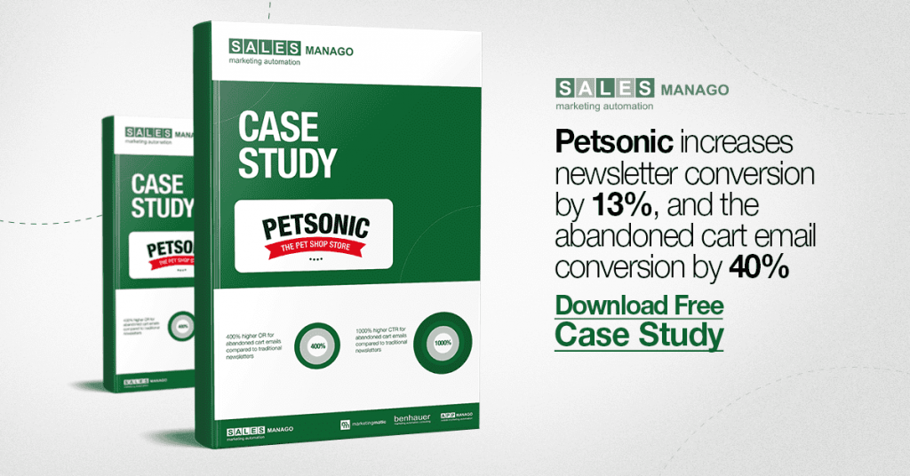 How to increase newsletter conversion by 13% and the abandoned cart email conversion by 40% [Petsonic Case Study]