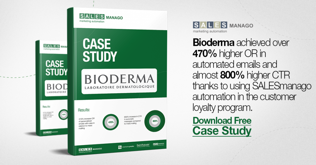 How to achieve 470% higher OR and 800% higher CTR with SALESmanago Marketing Automation [Bioderma Case Study]