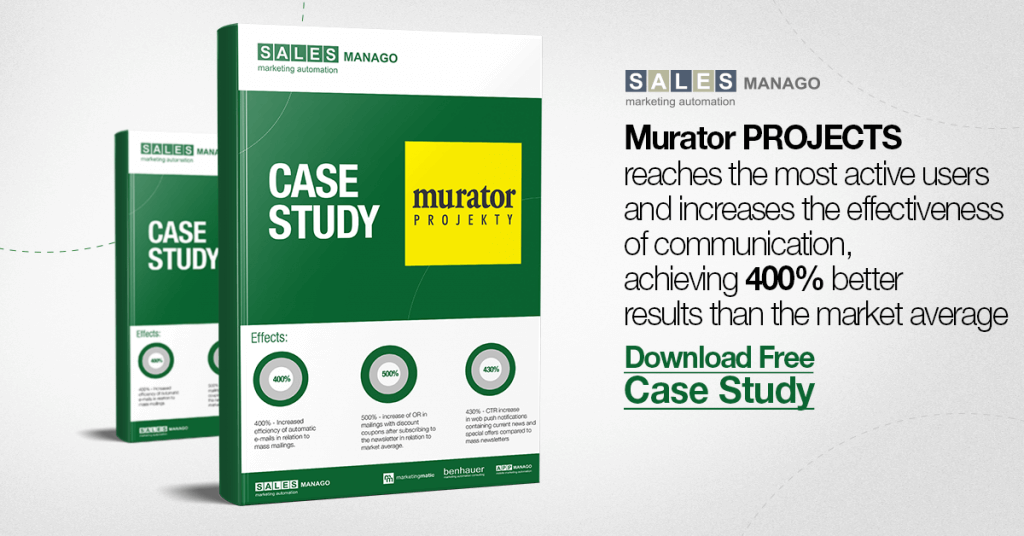 How to increase communication effectiveness by 400% and reach most active users [Murator Projects Case Study]