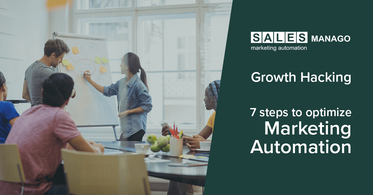Optimize your Marketing Automation in only 7 steps with  SALESmanago Growth hacking team! [INFOGRAPHIC]