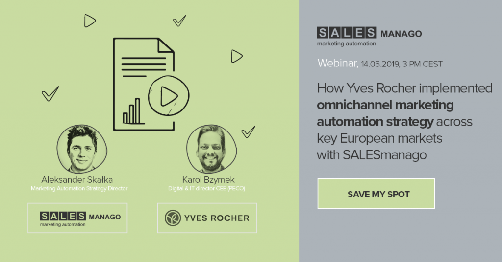 Find out how Yves Rocher implemented omnichannel marketing automation strategy across key European markets with SALESmanago