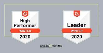 G2Crowd names SALESmanago a Leader and High Performer in Marketing Automation Category