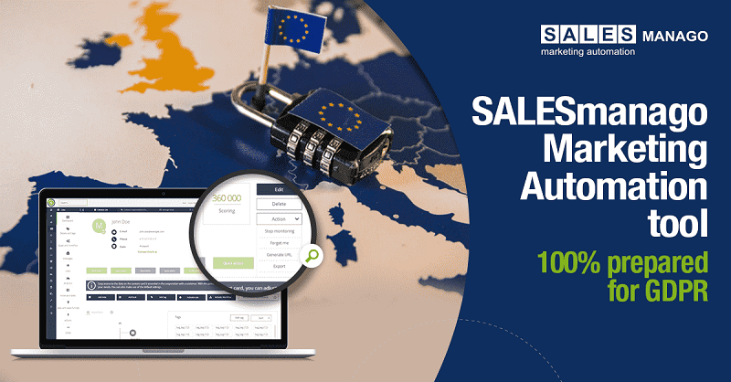 How to correctly enter consents in the context of the GDPR? Check out the new features at SALESmanago.
