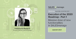 [Webinar] Execution of the 2020 Roadmap. Massive dose of new functionalities in SALESmanago.