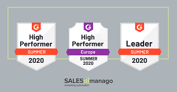 SALESmanago named a leader in Account Data Management & Personalization categories in the latest G2Crowd rankings.